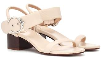 Chloé Roy 50 leather sandals