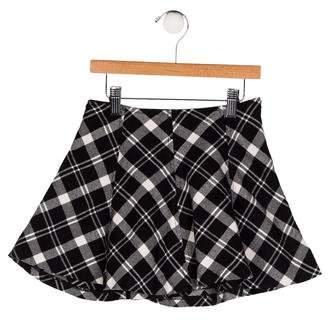 Polo Ralph Lauren Girls' Flare Plaid Skirt