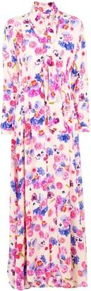 Natasha Zinko floral printed maxi dress