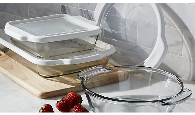 Crate & Barrel Bake and Store Baking Dishes