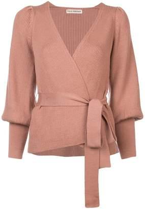 Ulla Johnson Lyra knitted wrap top