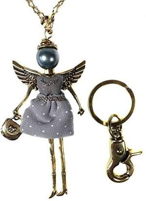 Kurt Adler *Guidance Angel* Pendant Necklace & Key Chain By Jacqueline Kent by Jacqueline Kent
