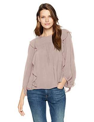 Velvet by Graham & Spencer Women's Yena Rayon Challis Blouse
