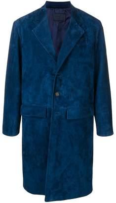 Prada single breasted coat