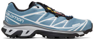 Salomon Blue Limited Edition S/LAB XT-6 Softground LT ADV Sneakers