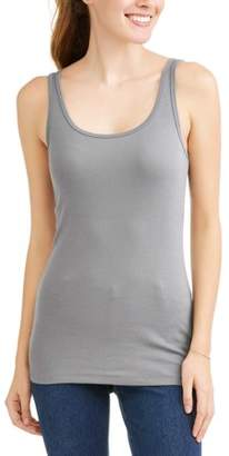 Time and Tru Women's Essential Knit Layering Tank