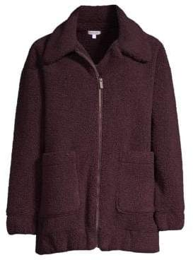 Splendid Teddy Zip-Up Jacket