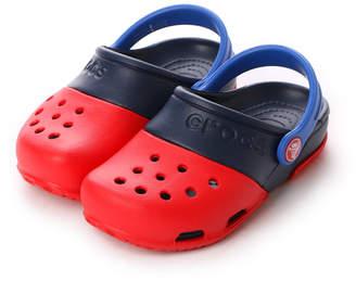 Crocs (クロックス) - クロックス crocs ジュニアサンダル エレクトロ 2.0 クロッグ Electro 2.0 Clog Red/Navy C10 15608-639-C10