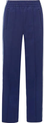 Marc Jacobs Striped Satin-jersey Track Pants - Navy