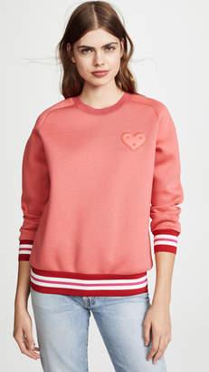 Anya Hindmarch Chubby Heart Sweatshirt