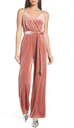 Ali & Jay Love Child Velvet Jumpsuit