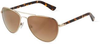 Oscar de la Renta O By Duo-Tone Aviator Combo Sunglasses
