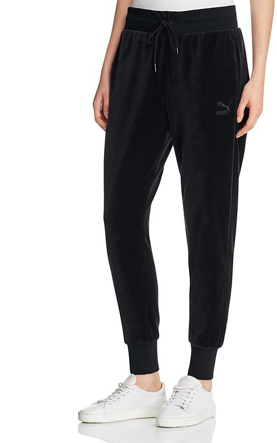 PUMA Velour Track Pants