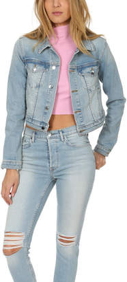 Cotton Citizen Crop Denim Jacket