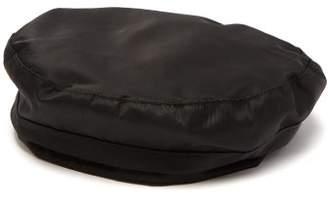 Reinhard Plank Hats - Sporty Twill Beret - Womens - Black