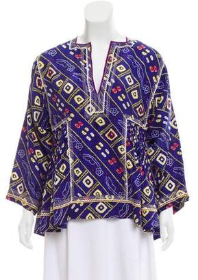 Isabel Marant Printed Silk Top w/ Tags
