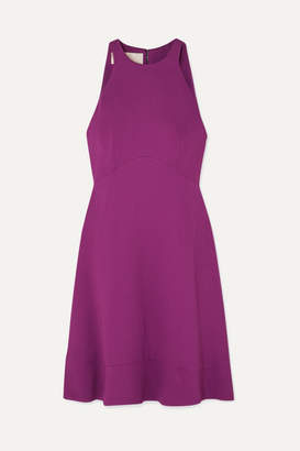 Antonio Berardi Stretch-crepe Mini Dress - Purple