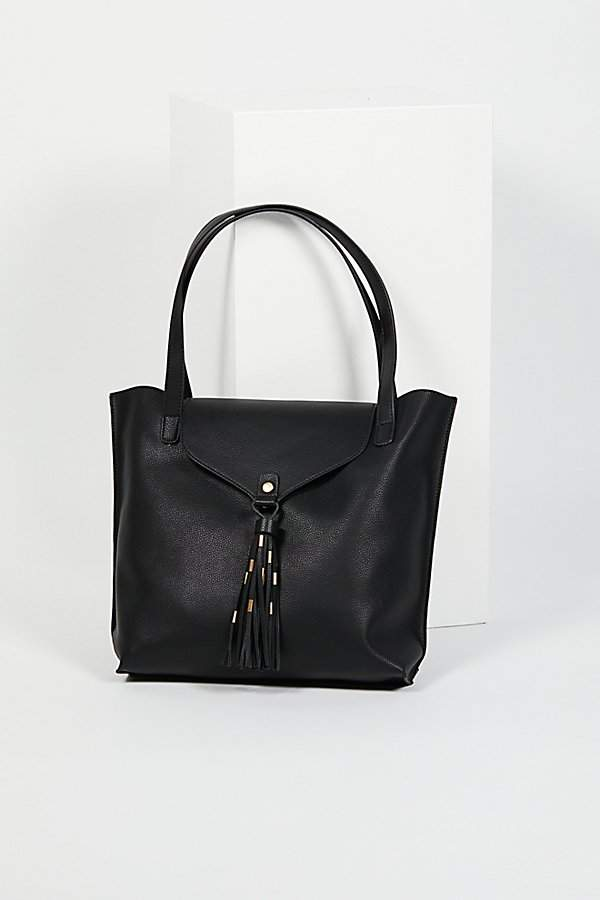 Adelle Tassel Tote by Free People