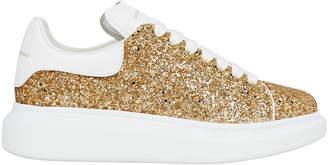 Alexander McQueen Glitter Platform Low-Top Sneakers