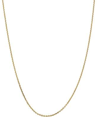 """Bloomingdale's 14K Yellow Gold 1.65mm Solid Diamond-Cut Cable Chain, 24"""" - 100% Exclusive"""