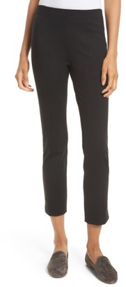 Women's Vince Crop Stretch Knit Trousers $225 thestylecure.com