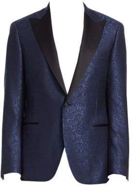 Saks Fifth Avenue COLLECTION BY SAMUELSOHN Paisley Dinner Jacket