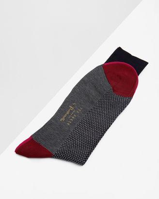 Geo print socks $35 thestylecure.com