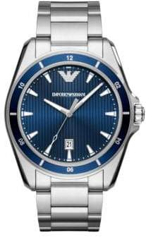 Emporio Armani Three Hand Sigma Sport Bracelet Watch