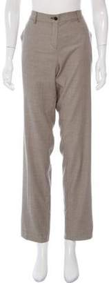 Etro Wool Mid-Rise Pants w/ Tags Beige Wool Mid-Rise Pants w/ Tags