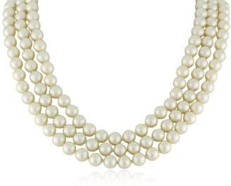 Kenneth Jay Lane Costume Pearl Necklace