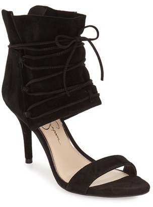 Women's Jessica Simpson 'Madeena' Ghillie Wrap Sandal $109.95 thestylecure.com