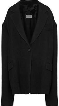 Maison Margiela Oversized Wool-Blend Twill Jacket