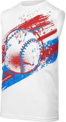 Champion Baseball-Print Tank, Toddler Boys