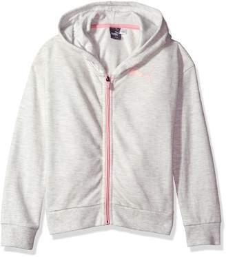 Puma Big Girl's Girls' Zipped Hoodie Sweater