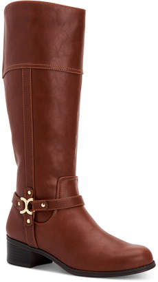 Charter Club Helenn Riding Boots, Women Shoes