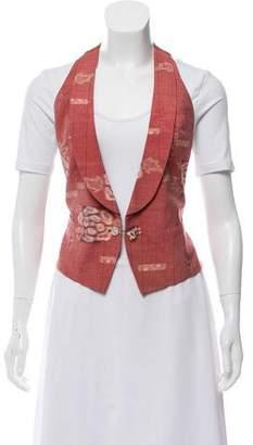 Ibrigu Silk Halter Vest