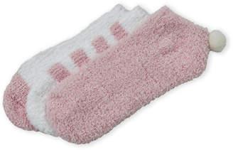 Ellen Tracy 3-Pack Pom-Pom Cozy Socks