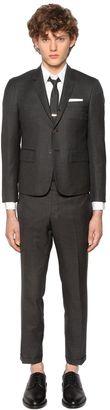 Skinny Fit Light Wool Gabardine Suit $2,590 thestylecure.com