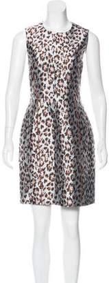 Christopher Kane Leopard Jacquard Dress w/ Tags