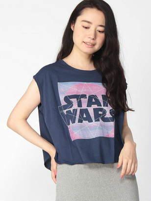 Junk Food Clothing (ジャンクフード) - JUNK FOOD (W)STAR WARS プリント ノースリーブT テットオム カットソー