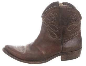 Golden Goose Distressed Cowboy Boots