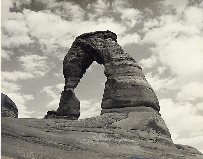 1950s Photograph of Arches Nat. Park