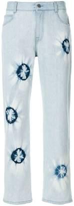 Stella McCartney patterned jeans