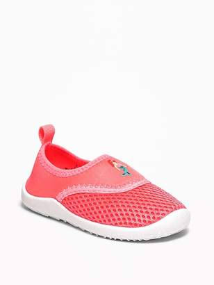 Old Navy Mermaid-Graphic Mesh Water Shoes for Toddler Girls