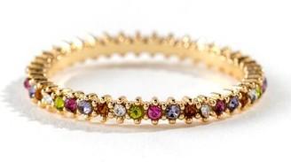 francesca's Michelle Pave Multi Color Ring - Multi