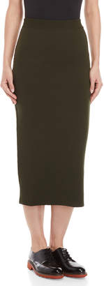 Antonio Marras Wool Midi Pencil Skirt