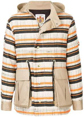 Education From Youngmachines checked jacket
