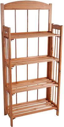 LAVISH HOME Lavish HomeTM 4-Shelf Bookcase