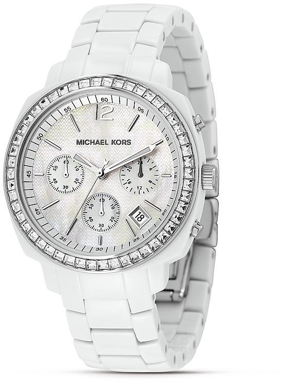 MICHAEL Michael Kors Acrylic Stone Watch, 39.5mm