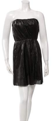 A.L.C. Leather Mini Dress